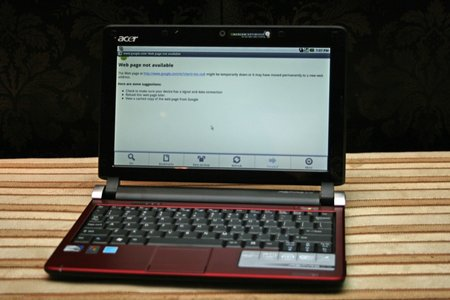 Acer Aspire One D250 with Android - photo 3