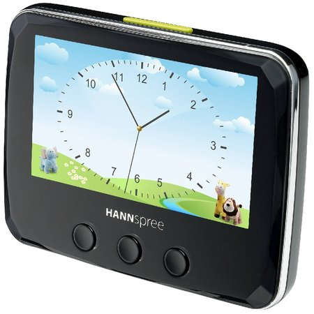 HANNspree Photo Alarm Clock launches