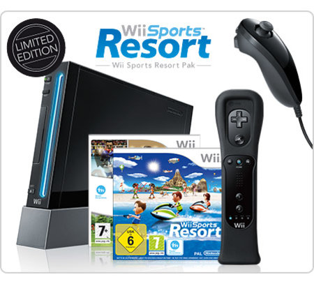 Limited Edition Black Nintendo Wii announced