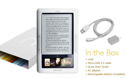Barnes & Noble Nook released