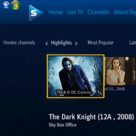 VIDEO: Sky Player in Windows 7