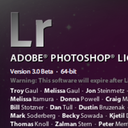 Adobe Lightroom 3 beta released