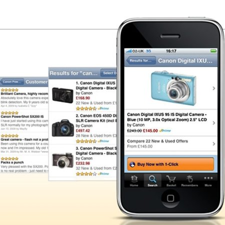 Amazon offers iPhone shopping app in UK
