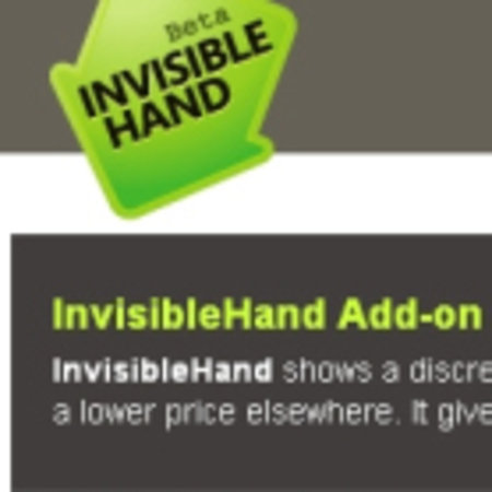 InvisibleHand launches on Internet Explorer