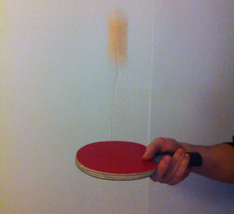 Table tennis shot 24fps