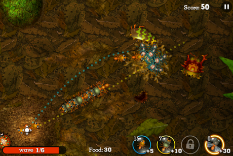 Anthill iPhone app
