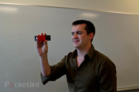 stuart miles with the lytro camera
