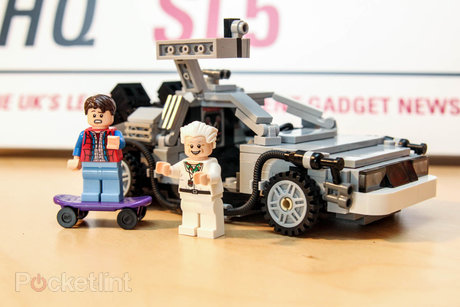 lego back to the future train instructions