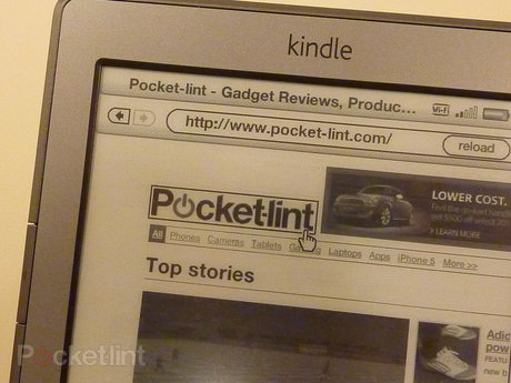 Amazon Kindle 2011 web browser