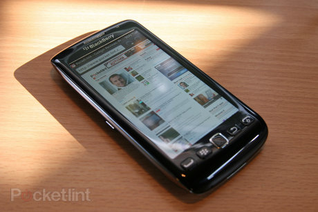 BlackBerry Torch 9860 browser