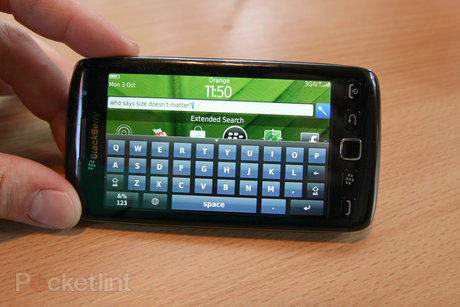 BlackBerry Torch 9860 keyboard