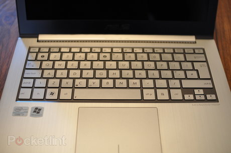 U31 keyboard and trackpad