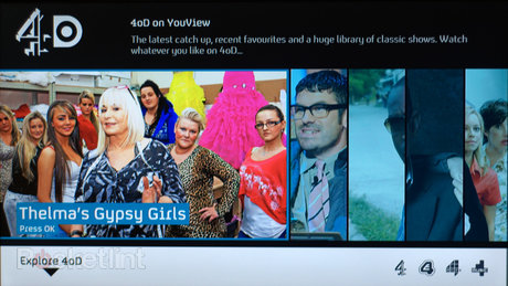 4oD on YouView