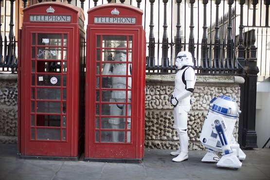 stormtroopers R2-d2 Londres