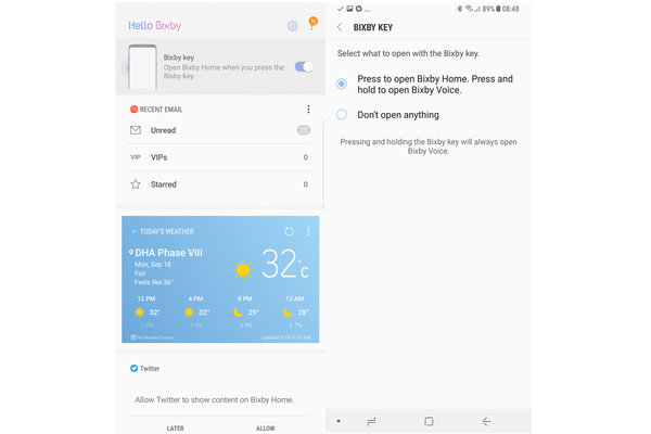 You can now disable the Bixby button on Samsung Galaxy S8 ...