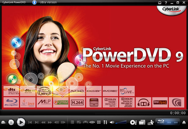CyberLink PowerDVD 9 Deluxe