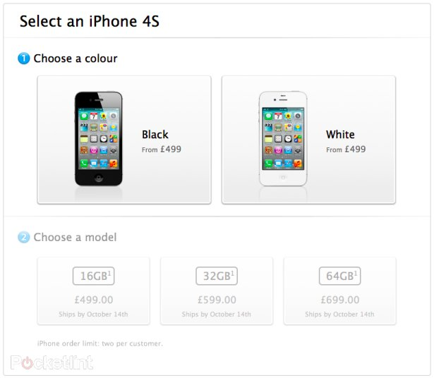 iPhone 4S pre-order deals go live - Pocket-lint