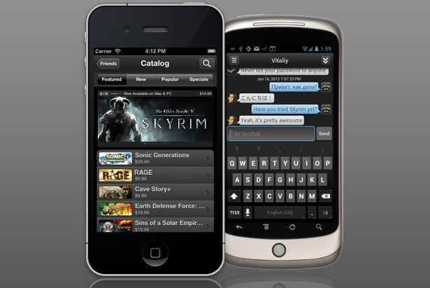Valve Steam app hits iOS and Android . Gaming, Apps, Valve, Steam, iPhone apps, Android apps 0