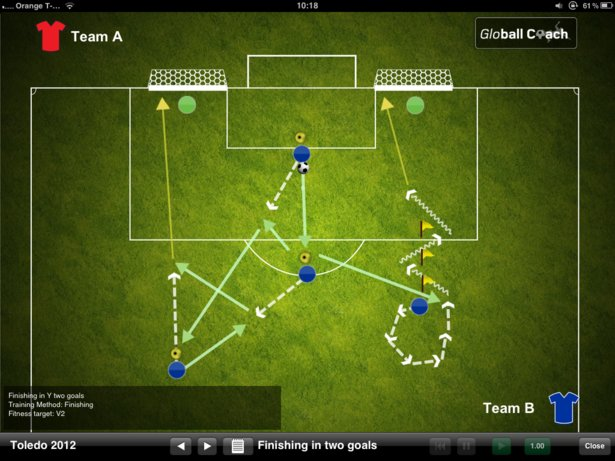 Rafa Benitez to use iPad to help Chelsea turn season around. Apps, iPad apps, Chelsea, Football, Globall Coach 2