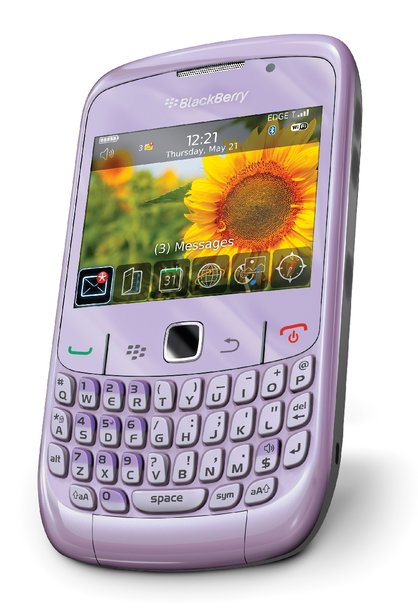 blackberry curve 8520 violet. revealed. Carphone details
