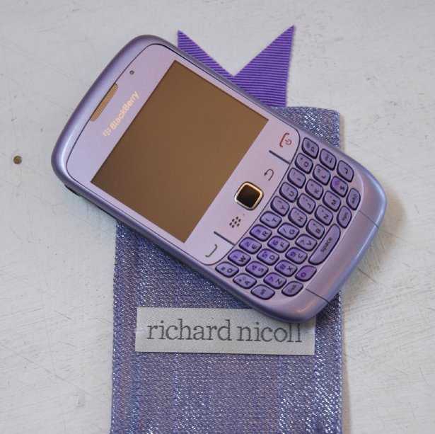 blackberry curve 8530 purple case. Leopard back case and front of