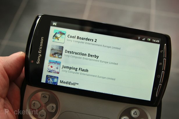 sony ericsson xperia play games list. Sony Ericsson Xperia Play: the