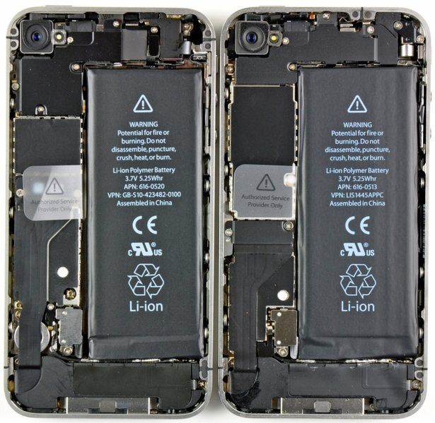 verizon iphone 5 pics. Verizon iPhone teardown hints