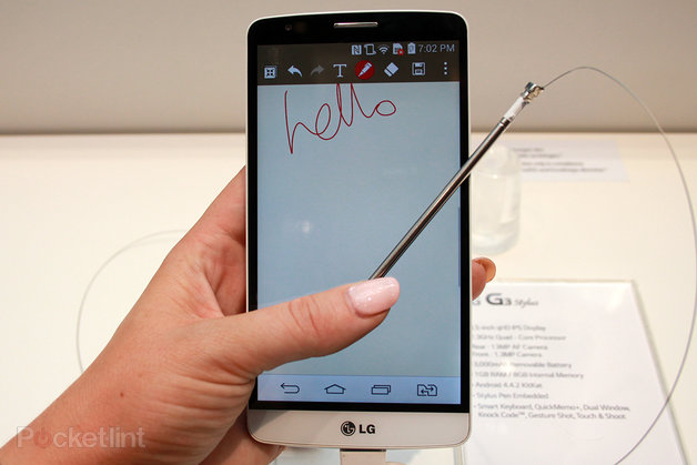 LG G4 to get a stylus? LG G Pen pops up in trademark filing.