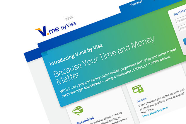 V.me: Visa Europe's digital wallet and PayPal rival to hit UK in autumn. Visa, Online, Internet, V-me, PayPal 0
