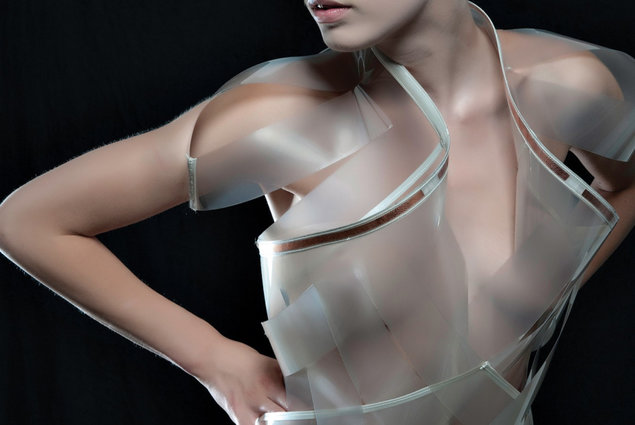 High-tech dress turns transparent when horny. Fashion, Clothes 3