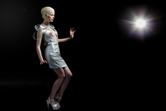 High-tech dress turns transparent when horny. Fashion, Clothes 4