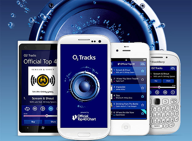 O2 Tracks brings UK Top 40 singles chart to your phone. Phones, Mobile phones, Apps, O2, o2 tracks 0