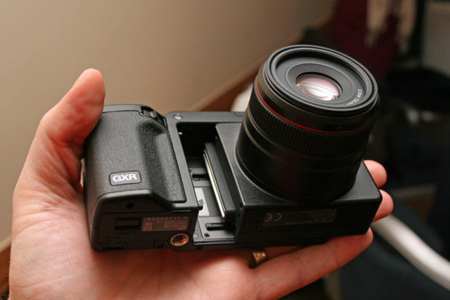 Ricoh GXR interchangeable unit camera system launches   - photo 1