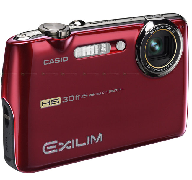 Casio intros Exilim EX-FS10S camera - photo 2