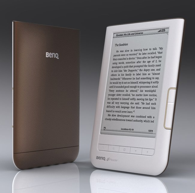 BenQ unveils K60 nReader  - photo 1