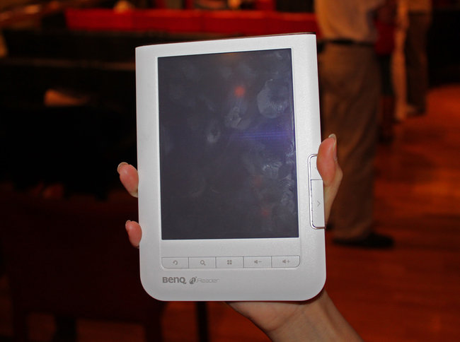 BenQ unveils K60 nReader  - photo 2