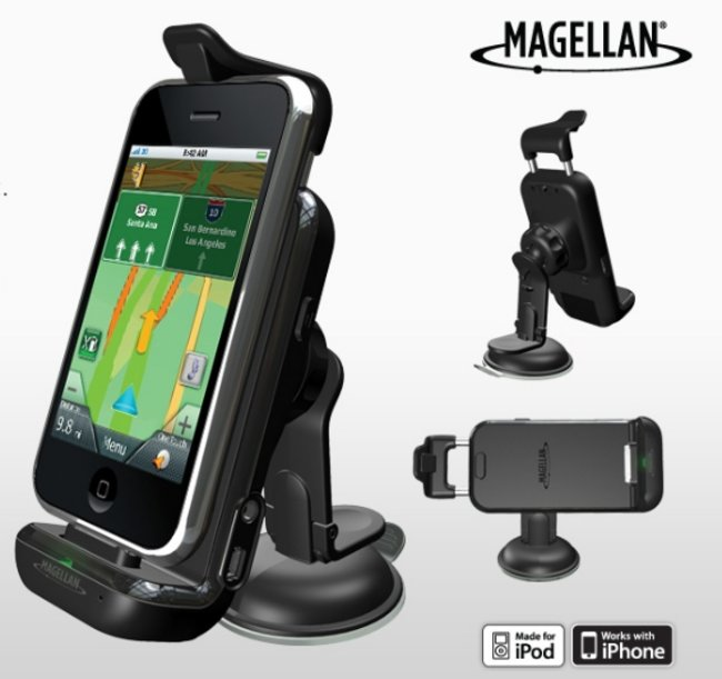 Magellan launches iPhone app and car kit  - photo 2