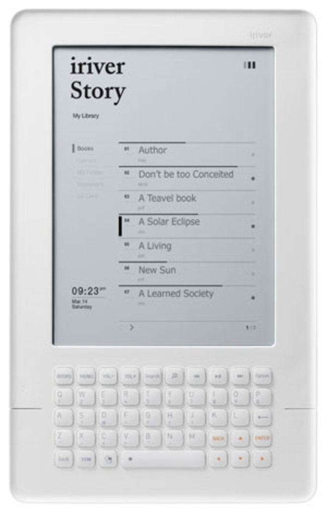 iRiver Story comes to the UK - photo 3