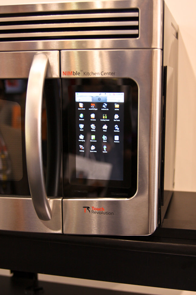 Android-powered microwave brings cooking to the Google OS - photo 3