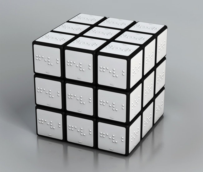 The Colour Rubik's Cube For The Blind - photo 2