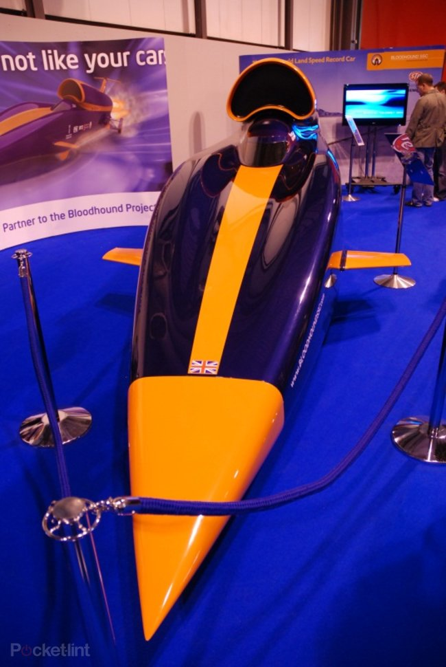 Bloodhound SSC 1000mph car - photo 2