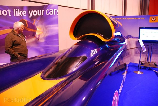 Bloodhound SSC 1000mph car - photo 6