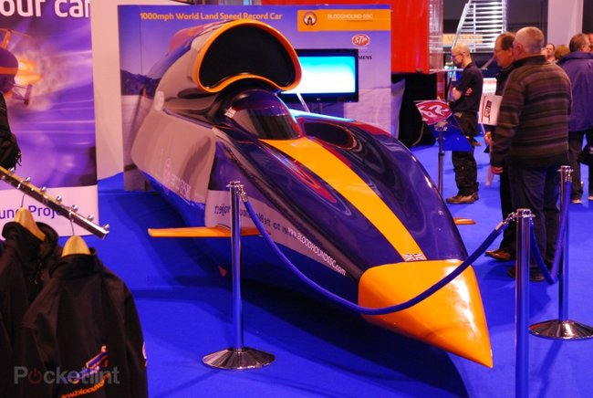 Bloodhound SSC 1000mph car - photo 8