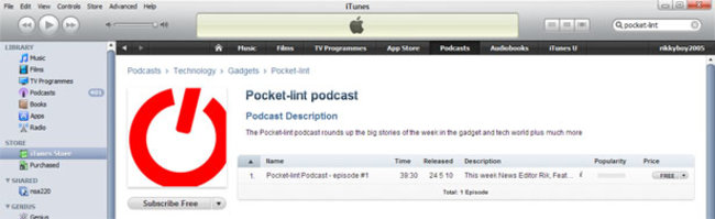 Pocket-lint Podcast now available on iTunes - photo 2