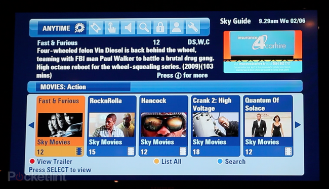 Sky Anytime Plus adds video on demand service to Sky HD - photo 5