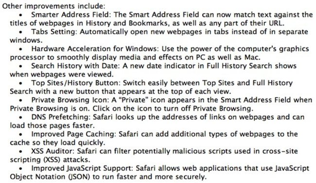 Safari 5 to get WWDC showing? - photo 3
