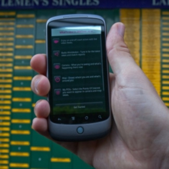VIDEO: IBM Seer app serves Augmented Reality up for Wimbledon - photo 1