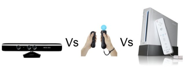Microsoft Kinect vs PlayStation Move vs Nintendo Wii - photo 1