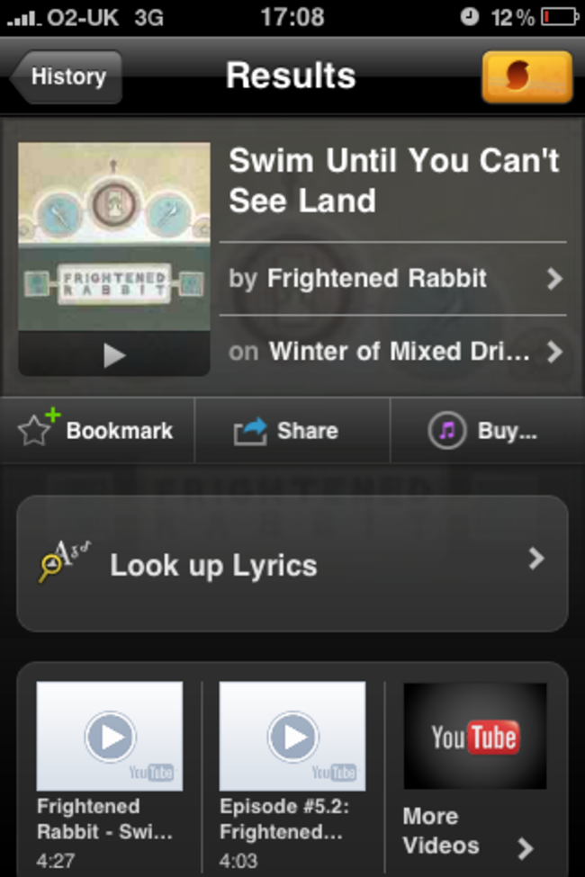 APP OF THE DAY - SoundHound - photo 2