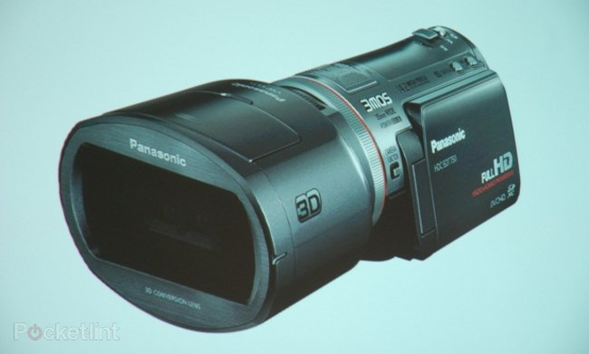 Panasonic launches the first 3D consumer camcorder - photo 1